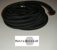 (8mm ID) Rubber Over Braid Fuel hose 5 Meters